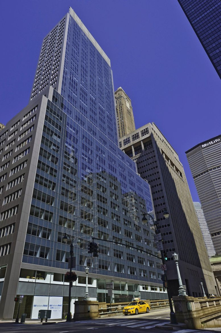 100 Park Avenue, Grand Central Office Space - Manhattan