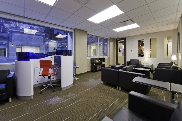 This is a photo of the office space available to rent on Paramount Building, 1501 Broadway, Times Square/Theater District
