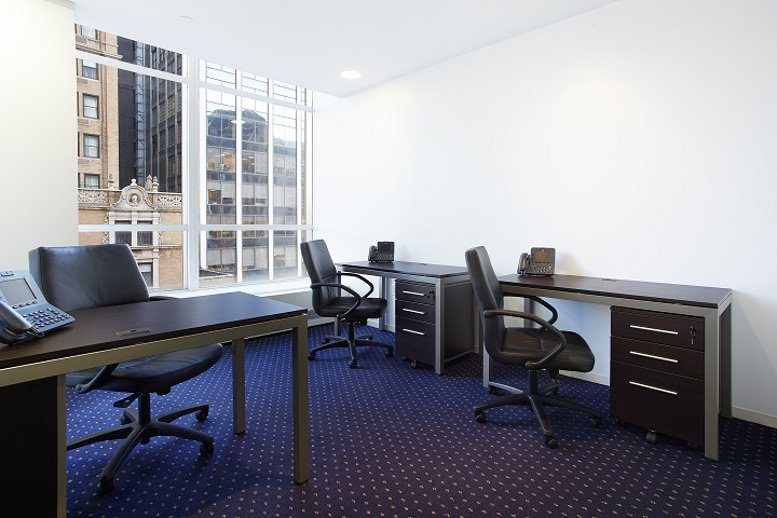 This is a photo of the office space available to rent on 1330 Avenue of The Americas, Midtown