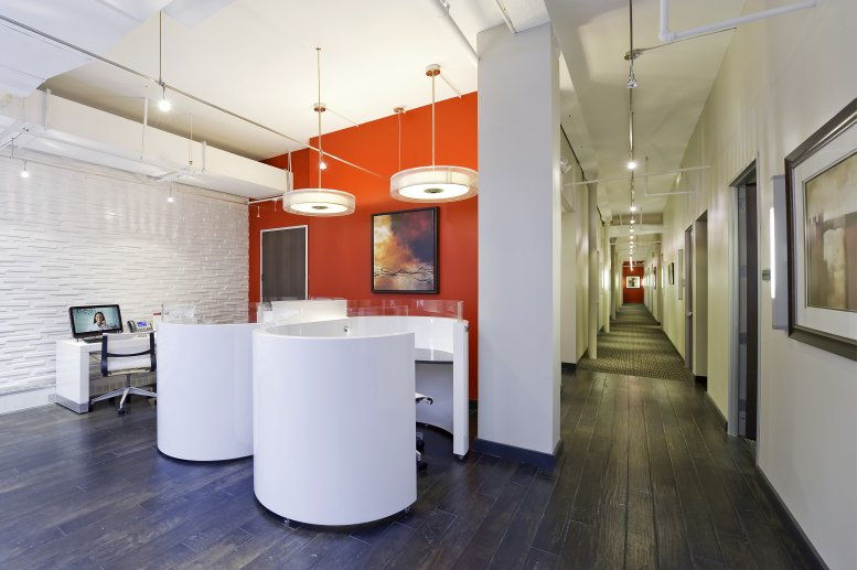 This is a photo of the office space available to rent on 411 Lafayette Street, NoHo, Downtown