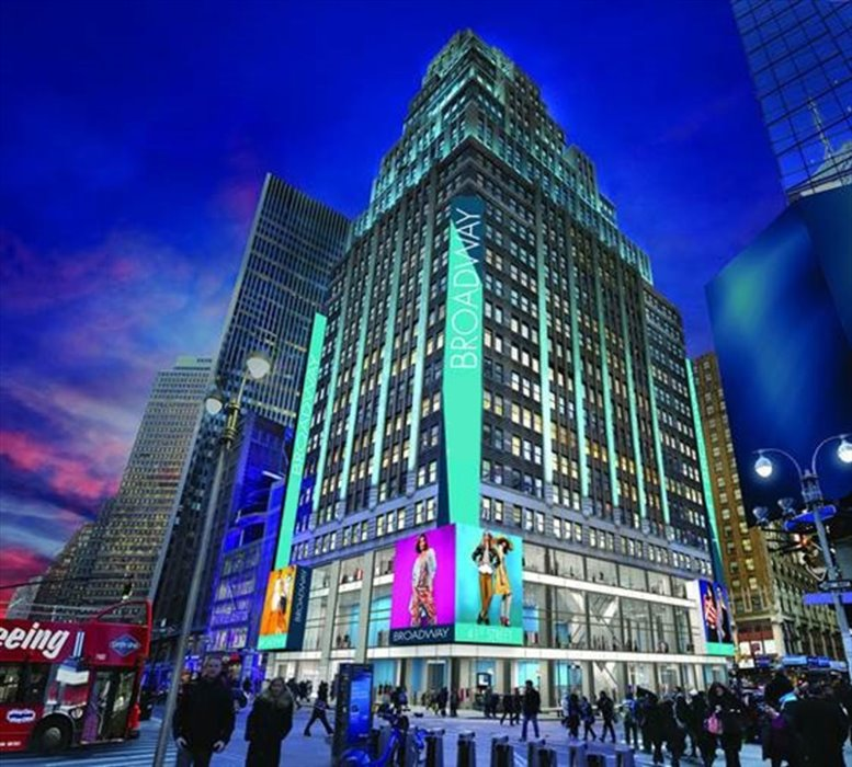 1441 Broadway, Times Square/Theater District Office Space - Manhattan
