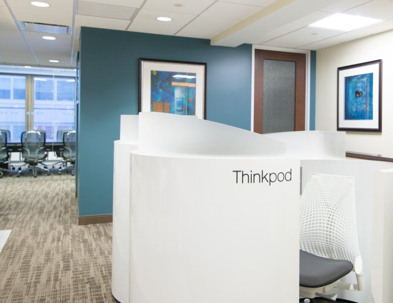 This is a photo of the office space available to rent on 555 Madison Avenue, Midtown