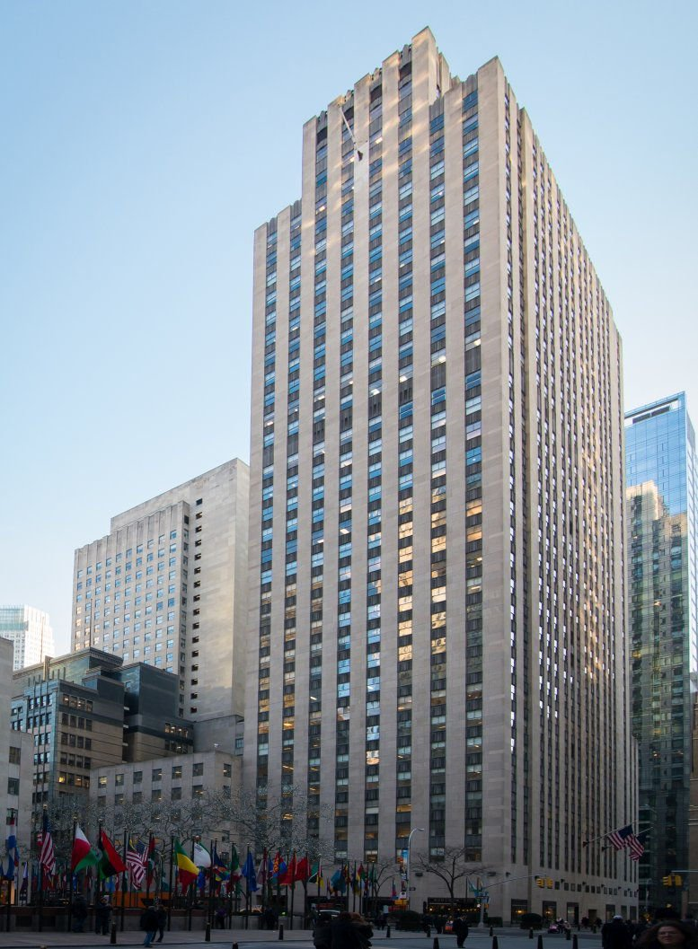 One Rockefeller Plaza, Rockefeller Center, Midtown Office Space - Manhattan