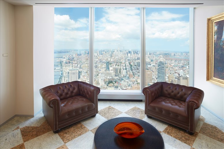 This is a photo of the office space available to rent on One World Trade Center, 285 Fulton Street, Financial District