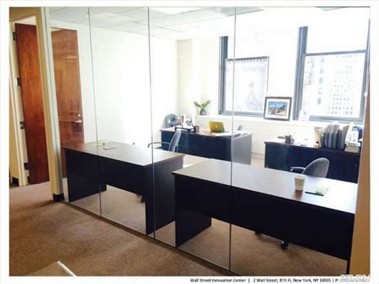 Photo of Office Space on 2 Wall Street, Financial District Manhattan
