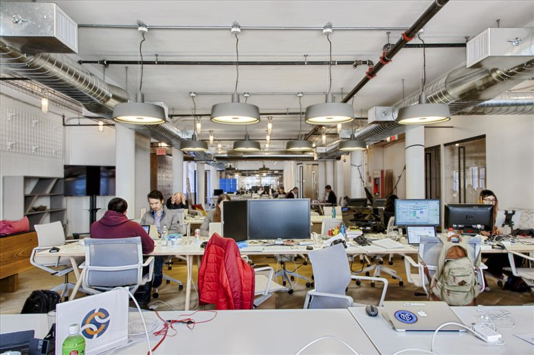 This is a photo of the office space available to rent on 43 West 23rd Street, Flatiron District
