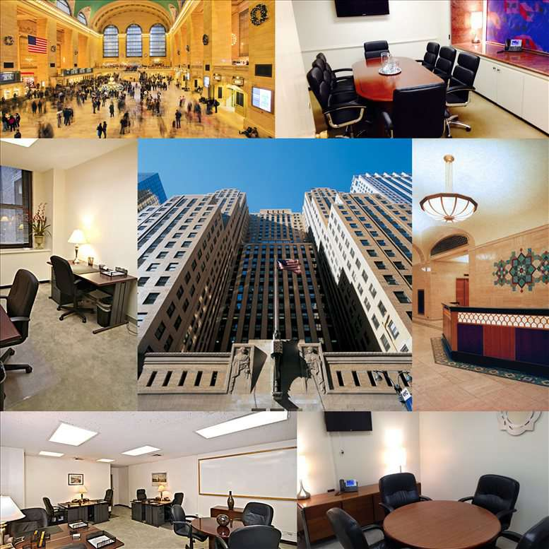 Office for Rent on GrayBar Building, 420 Lexington Ave, Grand Central Manhattan