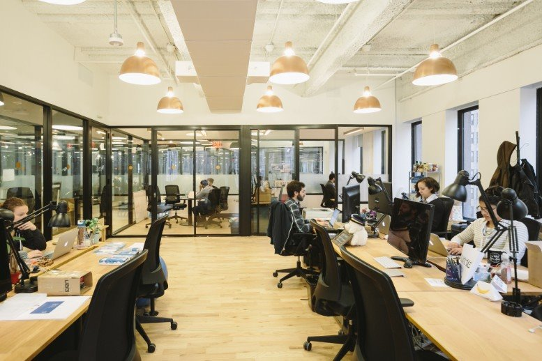 This is a photo of the office space available to rent on 379 West Broadway, SoHo