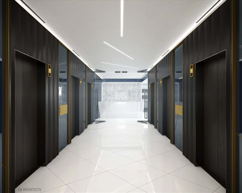 This is a photo of the office space available to rent on 1185 Avenue of The Americas, Times Square/Theater District