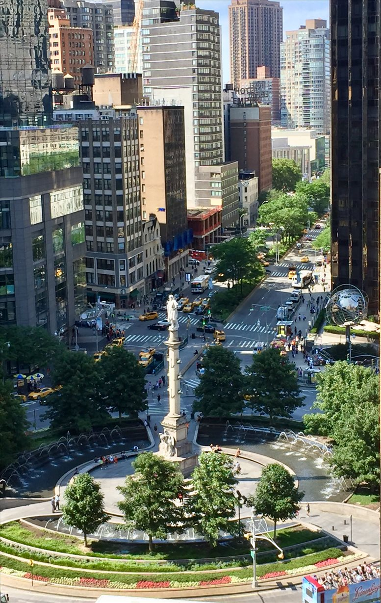 5 Columbus Circle / 1790 Broadway available for companies in Central Park/Columbus Circle