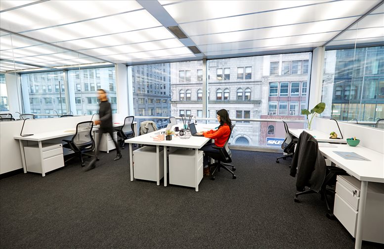 Photo of Office Space on 510 Fifth Avenue, Bryant Park, Midtown Manhattan