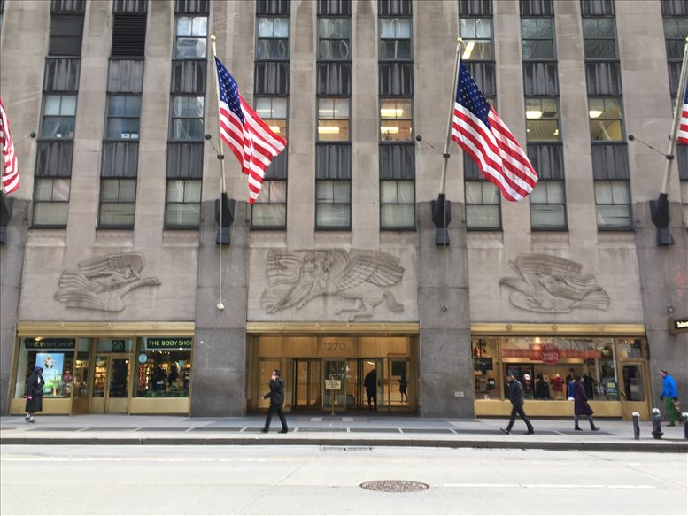 1270 Avenue of The Americas, Rockefeller Center, Midtown Office Space - Manhattan